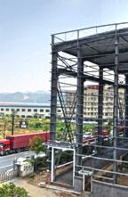 新的2000平米行政办公室-滑道运营-河景住宿套房