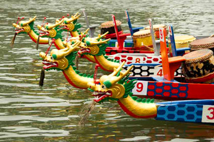 Dragon Boats should be sub page of Small Boats Manufacturing